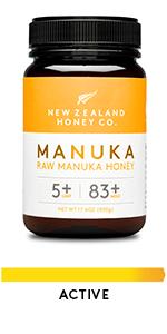 Raw Manuka Honey UMF 5+ 83+ Active