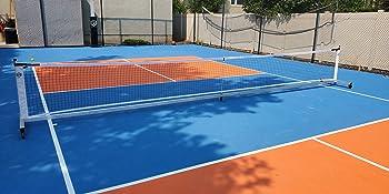 Pickleball Net on Court