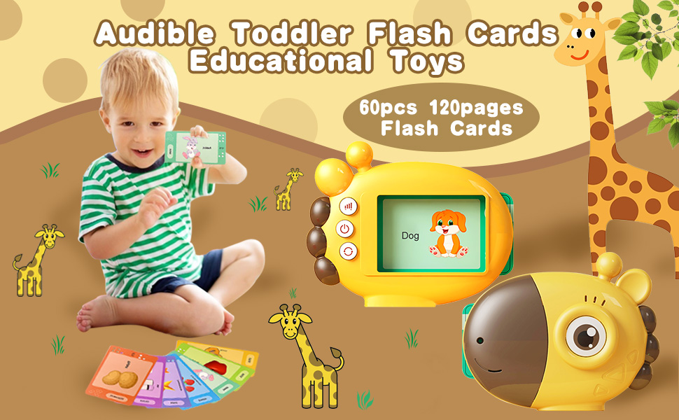 Audible Learning Resources with Sound Effects with 60 flash cards