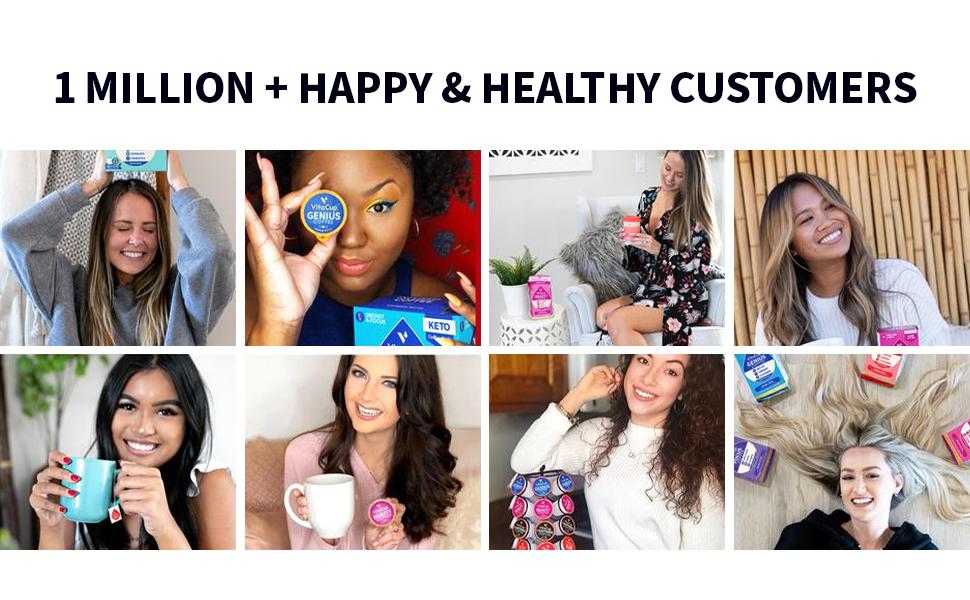 1 Million Happy & Healthy Customers