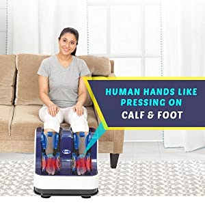 Massage Foot Calf & Ankle with Foot Massager
