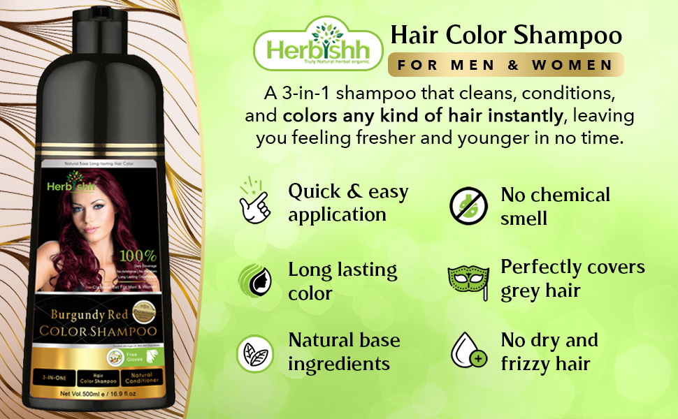 shampo colour darkening women coloring dying temp parabens tinte cebello pelo champu permanent grey