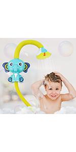 baby shower head for bath