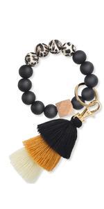 key ring bracelet keychain bracelet wristlet for women