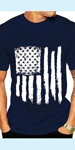 USA Flag Shirt Mens