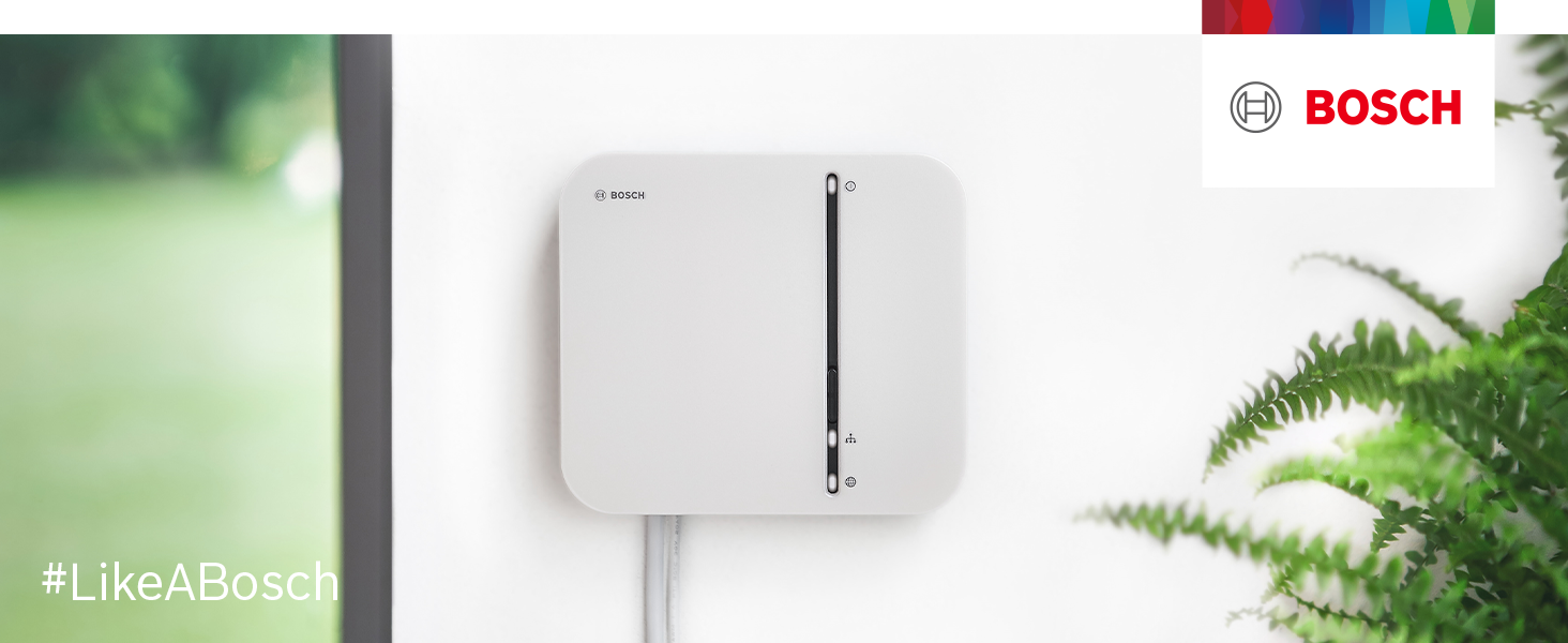 Bosch Smart Home controller in a building
