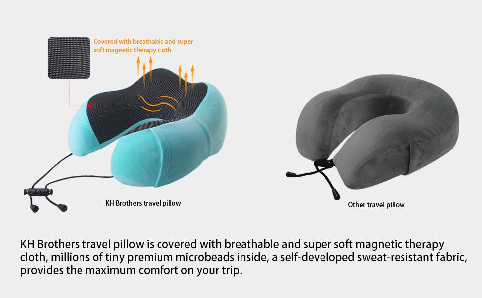 covered with breathable and super soft magnetic therapy cloth