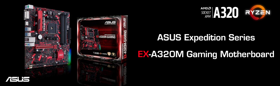 ASUS EX-A320M Motherboard - From TPSTech
