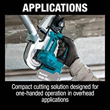 applications compact cutting solution designed one handed operation in overhead applications