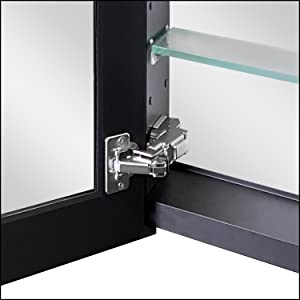 Stainless steel hinge Robust and anti-rust.It has a holder for opening 130° or 170°