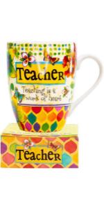 mug and notestack