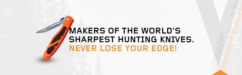 Makers of the World's Sharpest Hunting Knives