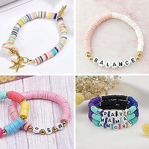 Pokémon-parel, Heishi-parel, platte parels voor armband, Potosala platte parels
