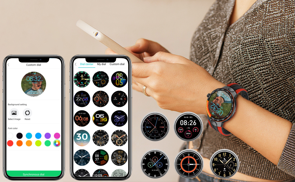 58 Different Watch Faces and Custom Watch Faces