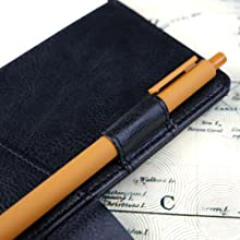 Dragon Leather Journal Hardcover Notebook Locked Refillable Diary pen holder
