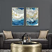 Framed canvas pictures painting