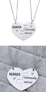 mothers day gifts mom daughter necklace mom and daughter necklace mom necklace from daughter
