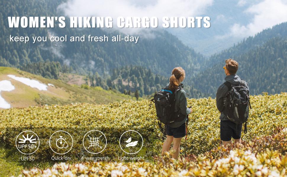cargo shorts for women