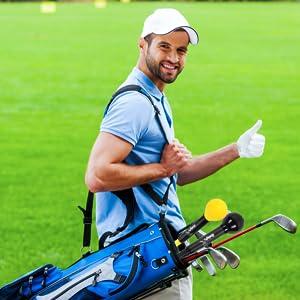 Fits golf bags