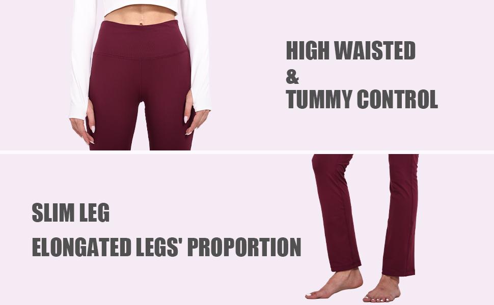 high waisted & tummy control