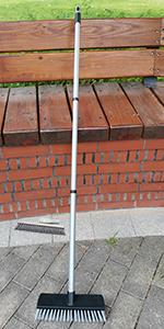 Small Deck Push Brush Broom