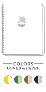 all weather maxi side spiral notebook