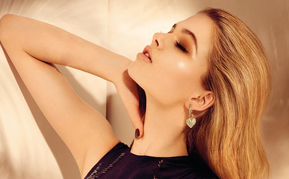 gold drop earrings for women