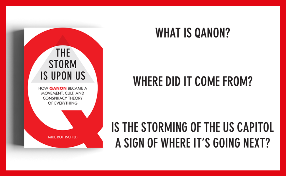 Is the storming of the US Capitol a sign of where QAnon is going next?