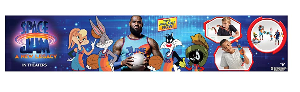 Space Jam: A New Legacy Transforming LeBron James Plush - Toys Available Now! Ad