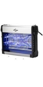VIFLYKOO Lampe Anti-Moustique Électrique, 2500V Moustique Tueur Lampe