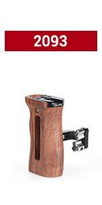 SMALLRIG Universal Wooden Side Handle 2093