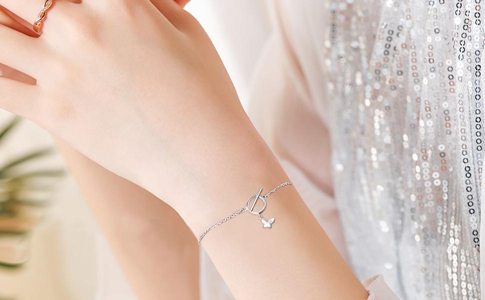 butterfly bracelets for women