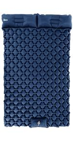 2 person sleeping pad for camping