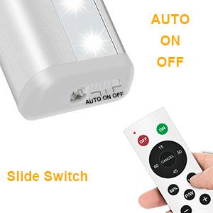remote control under counter light