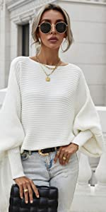 snugwind Womens Crewneck Sweaters