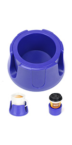 Anti-Spill Cup Holder BLUE
