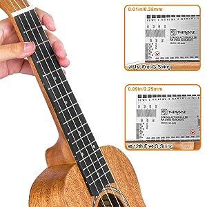 mahogany 21 inch ukulele