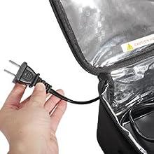 portable oven 110V plug