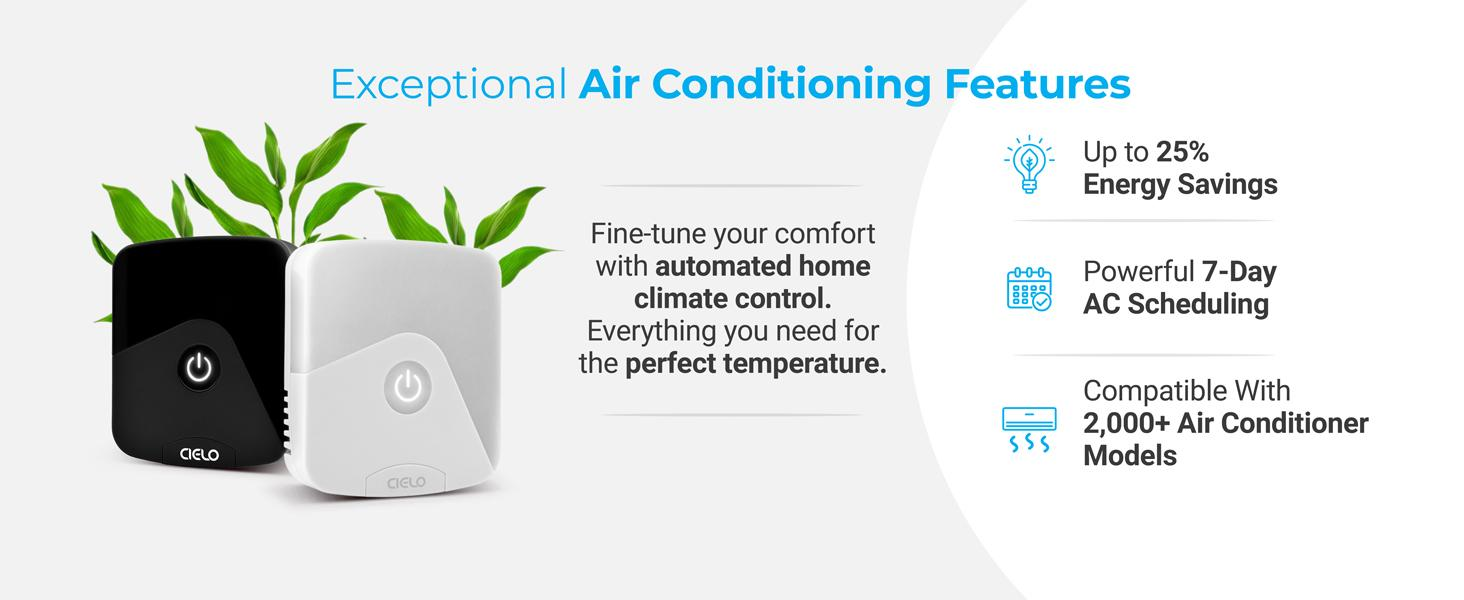 Exceptional air conditioning with Cielo Breez Eco smart AC controller