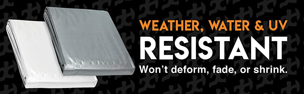 all weather poly tarp