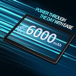 6000mah tablet