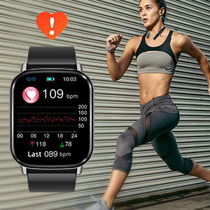 24/7 Real time Heart rate monitoring amp; Early Warning of abnormal heart rate