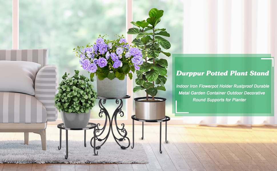 Durppur Outdoor Plant Stand