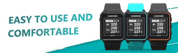 CANMORE GOLF GPS Watch TW353