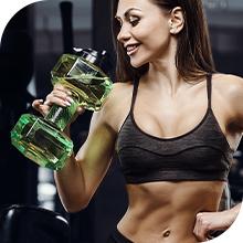 EDX Dumbbell Water Bottle