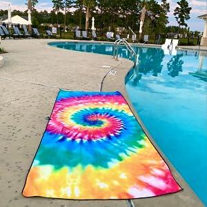 ELITE TREND SPLASH WAFFLE TOWEL