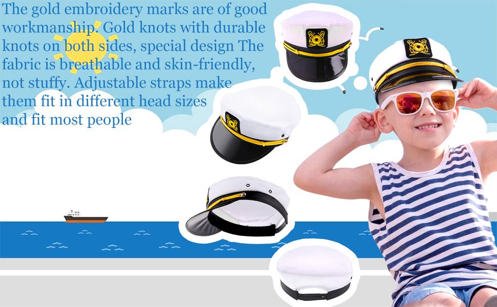 Captain Hats