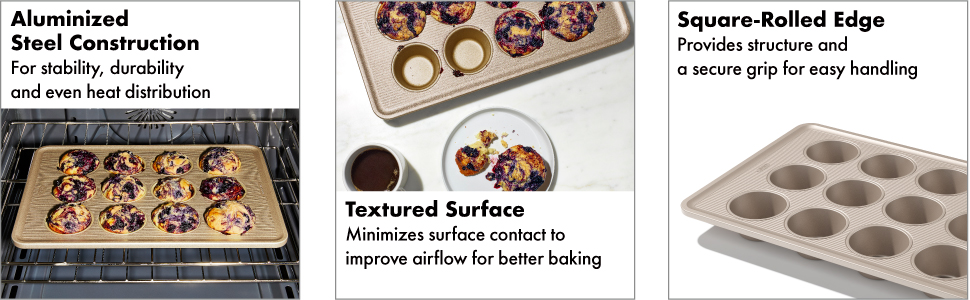 OXO Good Grips Non-Stick Pro 12 Cup Muffin Pan
