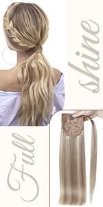 drawstring ponytail
