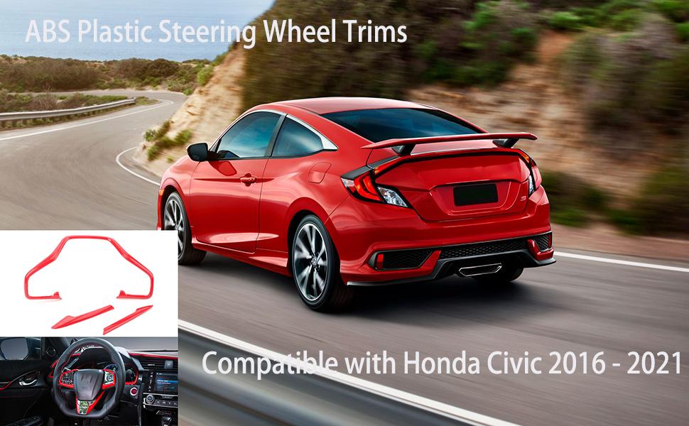 ABS Plastic Steering Wheel Trims